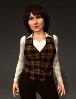 Sarah Jane Smith - New and Improved #3 by MattBrewer