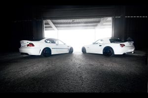 BMW Z4 BMW M3 - Brothers. by dejz0r