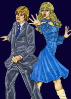 Comic Sapphire and Steel by Nemo-the-Everbeing