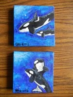 Both Orca Paintings by OECDLapushfan101