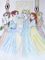 The Bennett Sisters by EmpressofHeaven