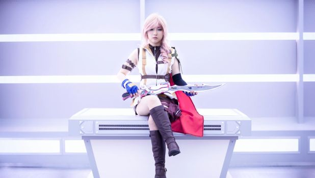 Lightning FFXIII cosplay part2 by mayuyu0405