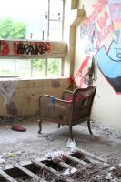 Industrial decay Stock 068 by Malleni-Stock