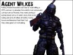 Killing Floor: Agent Wilkes by ZeekyPoe