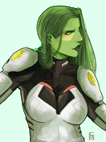 Gamora! by iagofn