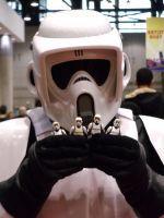 Imperial Scout Trooper Again by ShinigamiLeo