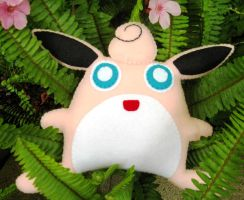 Wigglytuff Pokemon Plush by P-isfor-Plushes