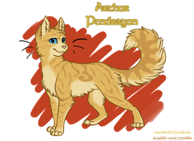 Cats of Camelot: Arthur by CatsInTheClouds