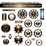 STEAMPUNK CONSTRUCTION KIT 2 by IllustratorG