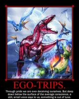 Ego-trips. by TheArchosaurQueen
