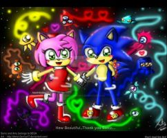 =SONAMY= Surprise rainbow light by Amel-Genius17