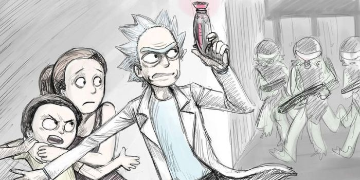 Rick and Morty Run by jameson9101322