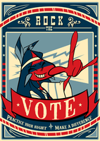 Rock the VOTE by Rocky-O