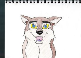 .:Aleu:. In Color by Tekwolf
