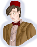 Matt Smith Bust by Maygirl96