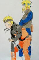 Family Bonds - Naruto and Minato by SakakiTheMastermind