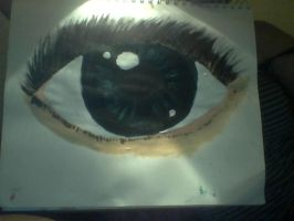 Eye practice with paints by Inner-instability