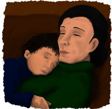 Harry Potter: Sleepyheads (painting) by starryeyed-nz