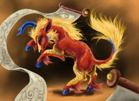 The Kirin's Dance by SilverFlight