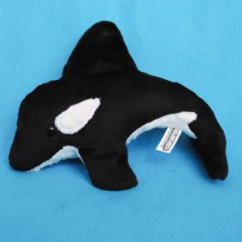 Orca Plushie by radtastical