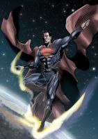 New Man Of Steel Color by Inhuman00