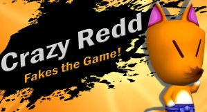 Crazy Redd SSB4 Request by Elemental-Aura