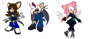 Sonic Adoptables 21.:Closed:. by Shadethebathog