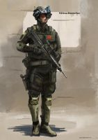 Near future PLA SOF by Aisxos