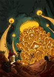 The Mushroom King by daHinci