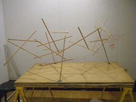 Small Scale Tensegrity Structure by rosalitamaria