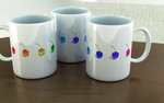 Rainbow Cherries - All colors Mug by THE-LEMON-WATCH