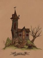 The Witch's House by Alecueous