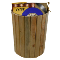 Steampunk recycle-bin full icon by pendragon1966