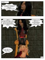 Michal And Her Big Ticklish Feet (1) p7 by sahrkastik