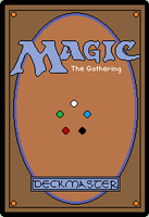Magic the Gathering Pixel Card by AndreaJacqLee