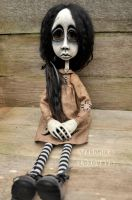 Gothic ARt Doll Jennie by VeronikaLozovaya