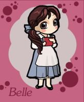 Chibi Beauty Belle by ikklesammy