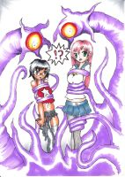 Ryukky and Flockchan Tentacle Trouble by Ryukky
