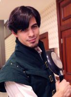 Flynn Rider leading the Charm! by geekypandaphotobox