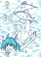 Water Dragon Syrus by Akane-The-Fox