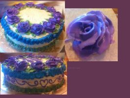 My FIRST Birthday Cake CREATION!!! by InkArtWriter
