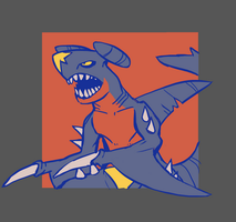 FTM: Dragon - Garchomp, 'Jawesome' by Bummerdude
