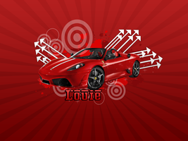 Ferrari Wallpaper by Louie82Y
