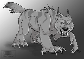 Warg by Key-Feathers