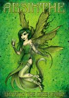 ABSINTHE FAIRY by beanarts