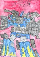 Super destructo mode in color by Johncleric