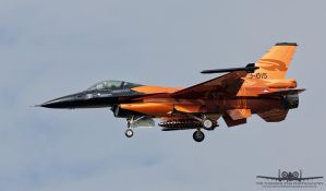 Fokker F-16AM Fighting Falcon J-015 by Thunderbolt120