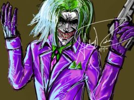 Joker Quick Sketch by Archonyto