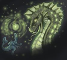 Angler Dragon by sharkie19