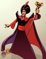 Jafar - Aladdin - EWG Christmas Commission by EryckWebbGraphics